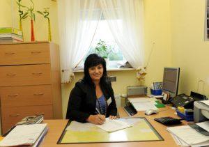 Referent ds. zaopatrzenia i administracji: mgr Małgorzata Nowotka